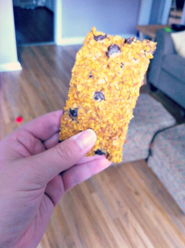 granola bar nov 7